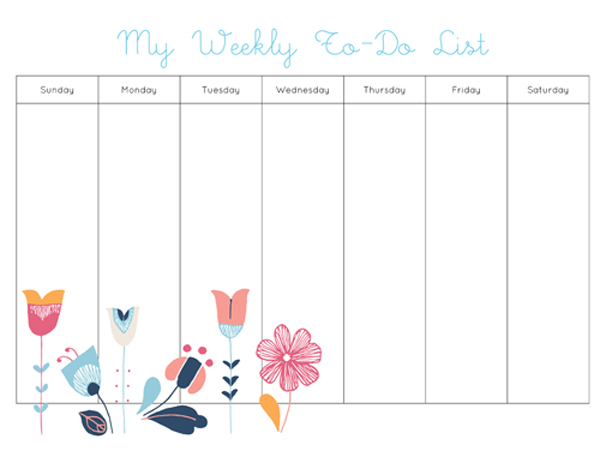 My-Weekly-To-Do